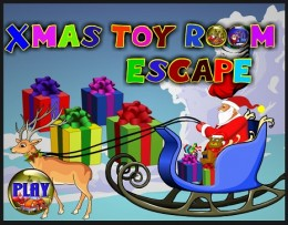 Object of Game: You got lots of toys for Christmas but you got trapped in the toy room. Point-and-click on the toys and games to find hidden objects. Then use the objects to solve the puzzle and escape.