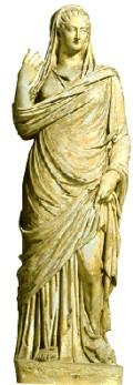 Roman Woman on Household