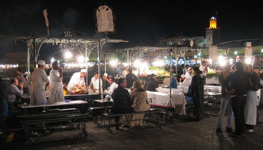 More culinary delights al fresco in Marrakech