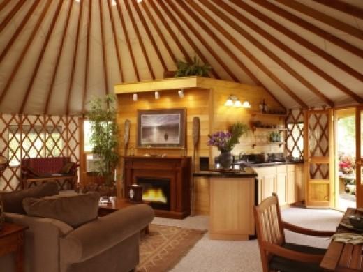 Yurt Interior Design Tips