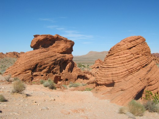 """The Beehive's"" of the Valley Of Fire State Park, located near Las Vegas, Nevada."