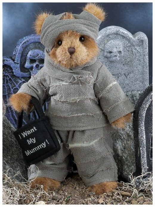 Spooky Mummy Bears Perfect for Halloween