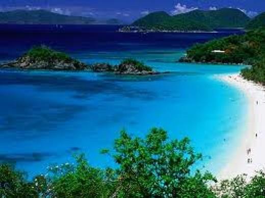 The Trunk Bay, Virgin Islands