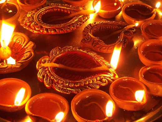 Diwali is festival of lights... celebrated across India.