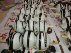 How To Make Cake Balls, Cake Pops, and Oreo Truffles. How to use Pepperidge Farms Layer cakes to make homemade desserts