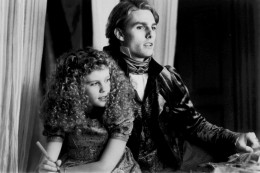 Tom Cruise as Lestat with Kirsten Dunst as Claudia in Interview with the Vampire