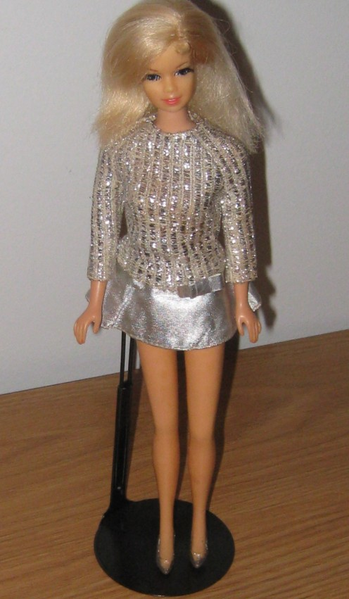 Stacey in Silver Sparkle