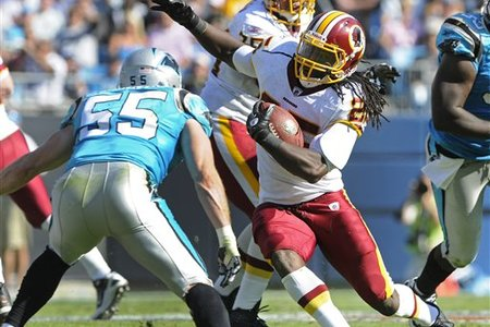 Hightower was the vocal point of the Redskins offense