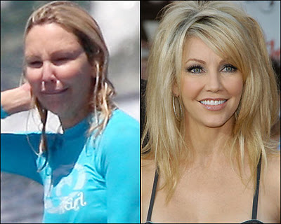 Heather Locklear without makeup