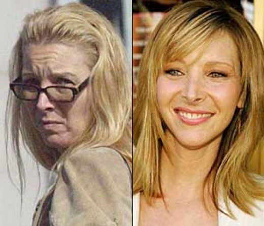 Friends of Lisa Kudrow would not recognize her from those familiar days with Friends