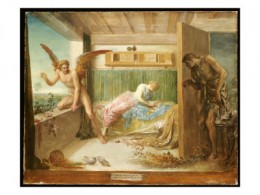 When Poverty Comes in at the Door, Love Flies Out the Window, by George Frederick Watts
