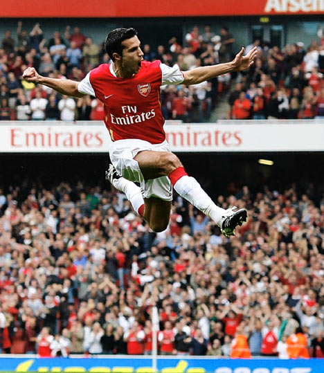 Robin Van Persie at Arsenal Football Club