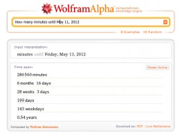 Wolfram|Alpha Search