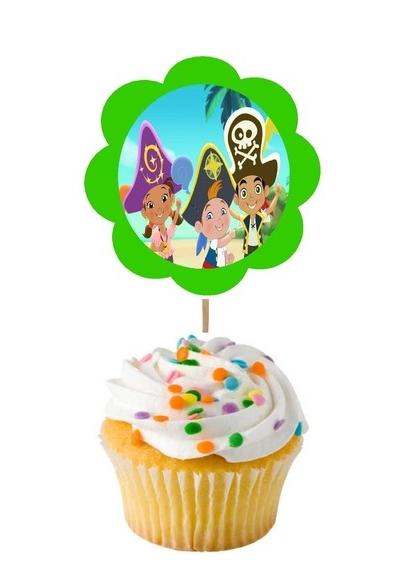 personalized cupcake picks