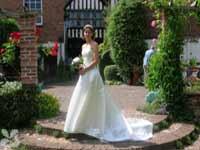 A Bride In Greyfriars Garden