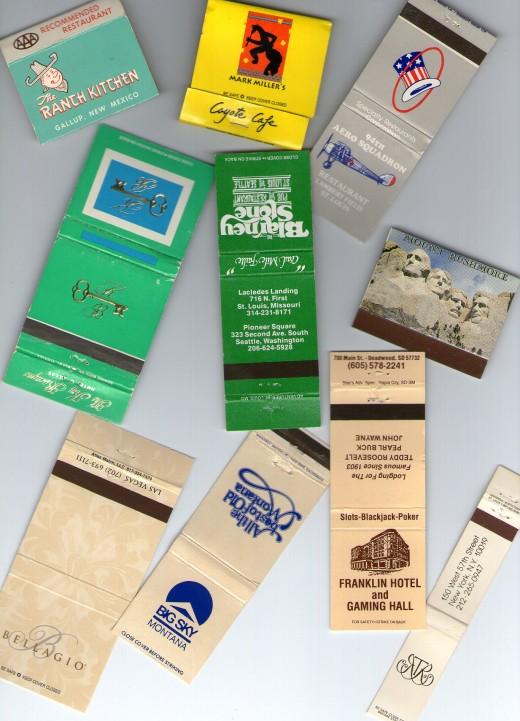 Gallup and Santa Fe, NM matches, St. Louis, Seattle, Vegas, Montana, Florida, South Dakota, and NYC's Russian Tea Room