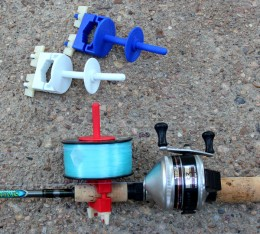 Side Winder attaches to any fishing pole