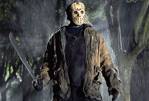 Jason with machete in hand