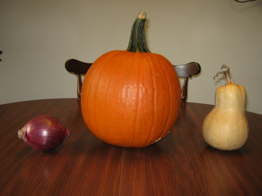 Do you know which one if the pumpkin?  If you're not too sure, you might be a moron.