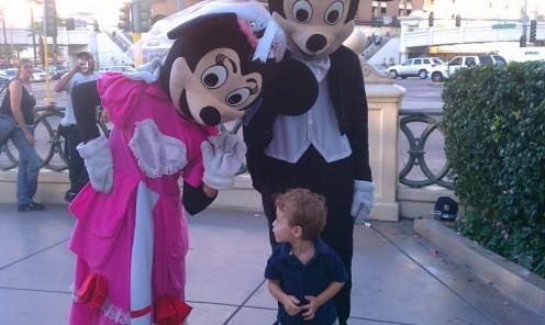 """Woah, mom, you weren't kidding when you said Las Vegas is like an adult Disneyland."""