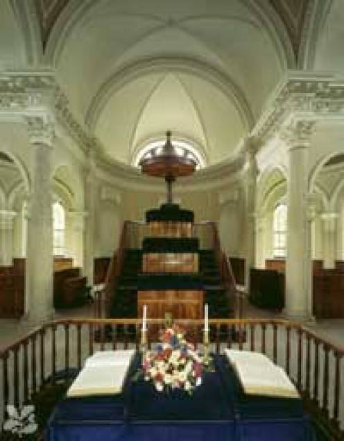 Interior Of Gibside Chapel