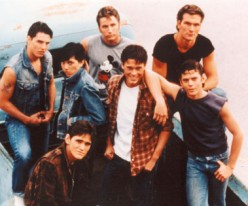 The Outsiders, Patrick Swayze and the Brat Pack