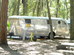 !946 Spartan rescued from the woods and completely renovated and modernized for today's camping sites.