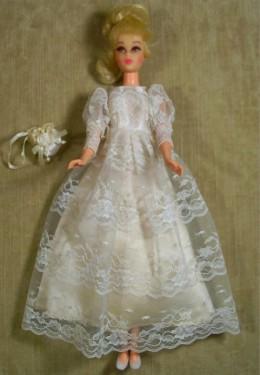 Francie in Victorian Wedding
