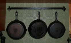 The Frugal Homemaker -  In The Kitchen - Cast Iron Cookware & Plastic