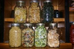 Potatoes, Cauliflower, kale Tofu, Veggie Soup Mix, Leeks, Apples