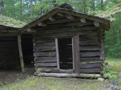 Another vintage smokehouse.  Once vital to survival in the Appalachians.
