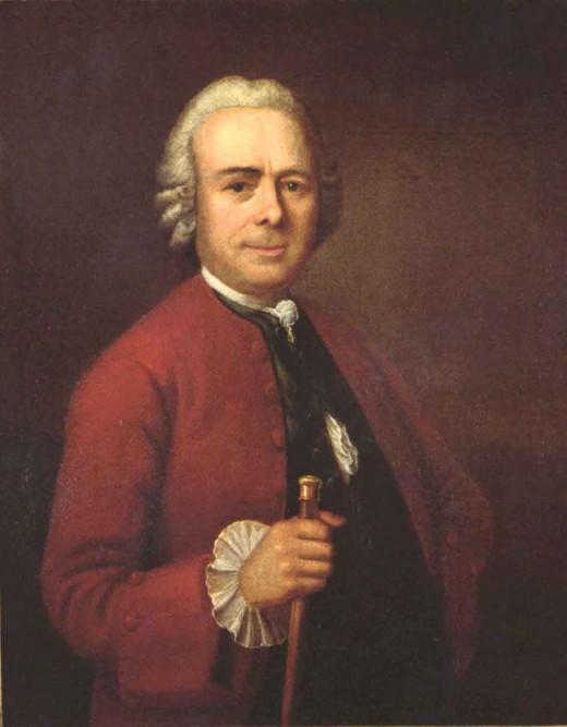 Johann Heinrich Scheibler (1705-1756), around 1750