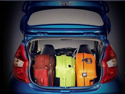 Hyundai Eon Boot Space