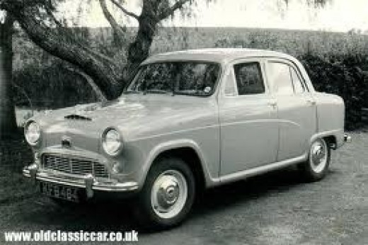 The sort of car I learned to drive in 56 years ago.