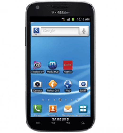 Samsung Galaxy S II 4G, huge screen, thin, fast...
