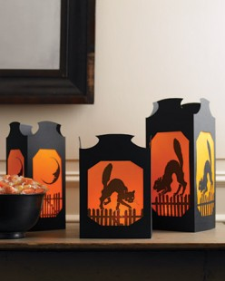 Halloween lanterns: creating the ambiance