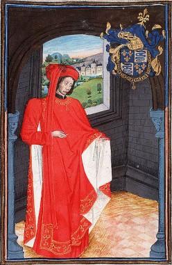Charles Ier d'Orléans - Source: Statuts, Ordonnances et Armorial de l'Ordre de la Toison d'Or, Public Domain via Wikimedia Commons