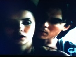 Damon gets close and personal to teach Elena how to defend herself.