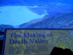 Photo Shoot Dante's View to the Death Valley Salt Flats