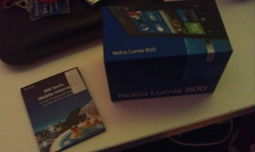 Lumia Number 20 loaned to me at Nokia World