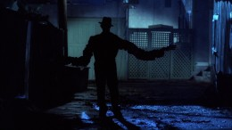 Freddy's stretched arms. Scene always freaked me out as a kid...still kind of does.