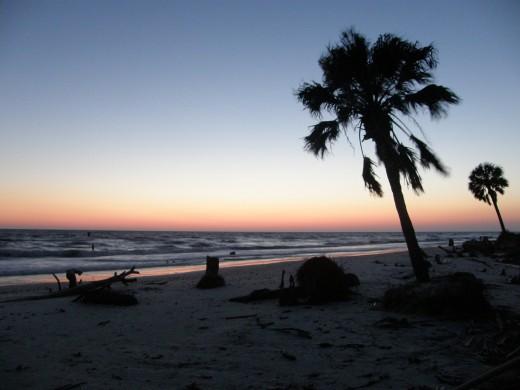 Sunset at San Blas - Photography by Vicki Parker