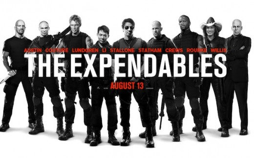 Poster for The Expendables