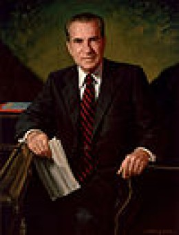Richard Nixon (1913–1994) Served January 20, 1969 to August 9, 1974