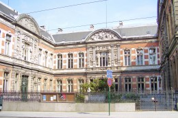 Royal Conservatory of Music of Brussels; architect: Jean-Pierre Cluysenaer