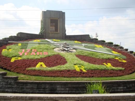 Floral Clock, Niagara Falls, Ontario, Canada