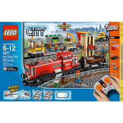 Lego City Red Cargo Train Special Edition 3677