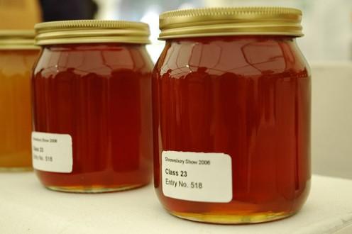 Honey is a natural moisturizer.