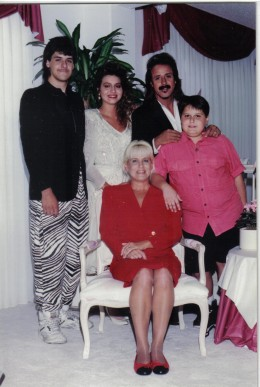Jimmy Hart and family