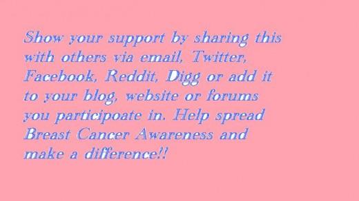 Support Susan G. Komen